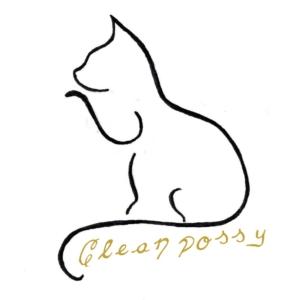 CleanPossy - Katzennapf / Fressnapf mit Antihaftwirkung